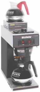 Bunn Vp17 2 Blk Pourover Coffee Brewer With 2 Warmers