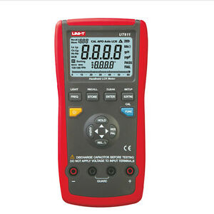 Uni t Ut611 Digital Lcr Meter Analog Inductance Capacitor Ohm Frequency Tester