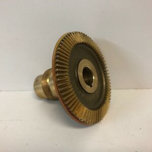 New Unused Bridgeport Mill Servo Power Feed Bronze Beveled Gear 0237 Free Ship