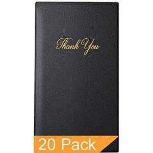 Guest Check Presenter With Gold Thank You Imprint 5 5 X 10 Standard 20