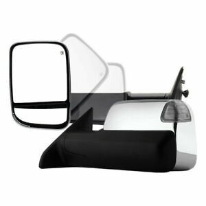 New Front Left Side Towing Mirror For Dodge Ram ram 1500 2500 3500 2009 2012