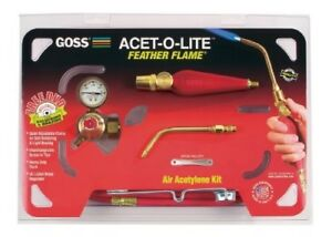 Goss Ka 1h Soldering Kit For Use With b Acetylene Tanks With Economical Ba 3 F