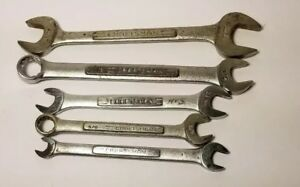 Craftsman Assorted Wrenches Lot Of 5 Sae Metric Made In Usa