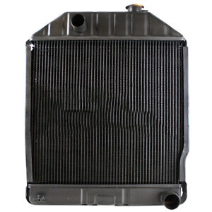 E4nn8005aa Ford New Holland 4610 Tractor Radiator 22 Overall Height 3 Rows