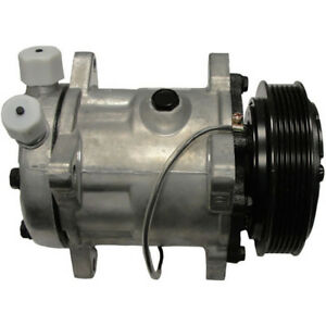 82016157 Ac Compressor For Ford New Holland 5640 6640 7740 8240 8340 Ts100