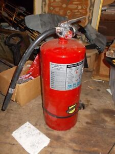 Buckeye 20s Hi Sa Abc 20 Lb Fire Extinguisher