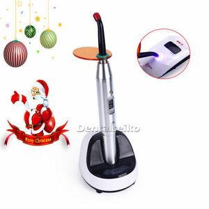 Usa Dental Led Curing Light With Lamp Guide Light Density 2700mw cm2 Silver 12w