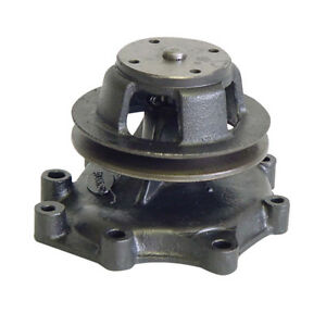 Water Pump Single Pulley Fits Ford Tractor 445a 450 4500 4610 515 530a 531 532