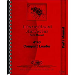 New International Harvester 4140 Tractor Parts Manual