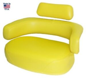 Yellow Seat Made To Fit John Deere Tractor 3010 4010 4020 4320 4430