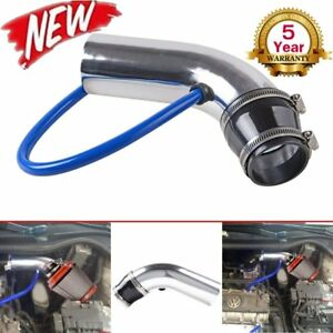 75mm 3 Inch Cold Air Intake Inlet Pipe Hose Tube Universal System Kit Vp