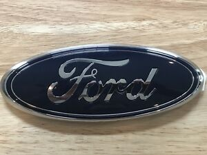 New Ford Oem 9 Front Grill Or Back Tailgate Emblem Badge Blue Oval F series