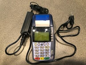 Verifone Omni 3750 Credit Card Terminal Reader