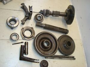 1945 Ford 2n Tractor 3 Speed Transmission Gears Forks Sliders 9n