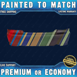 Painted To Match Rear Bumper Cover 2004 2005 Honda Civic Coupe 2dr 1 7l 04 05