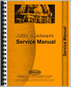 Service Manual Made For Allis Chalmers Ac Crawler Model Hd16dp