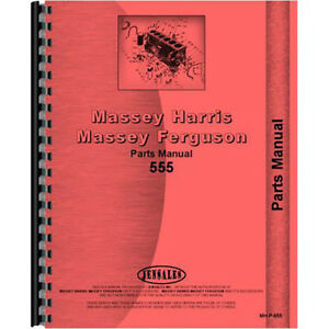 New Massey Harris 555 Tractor Parts Manual