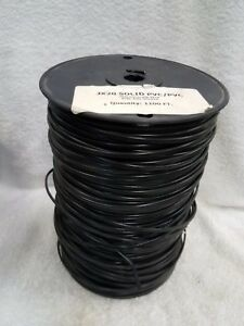 Thermocouple Wire Type J Solid 20g Pvc pvc 1000 Spool