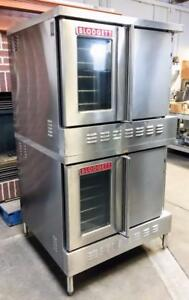 Blodgett Sh1g aa Bakery Restaurant Full Size Double Stack Gas Convection Oven