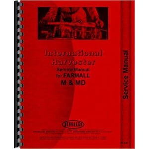 New Mccormick Deering Wd6 Tractor Service Manual