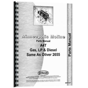 New Oliver 2655 Tractor Parts Manual