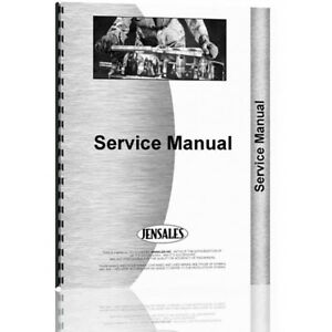 New Massey Harris Mustang Tractor Service Manual