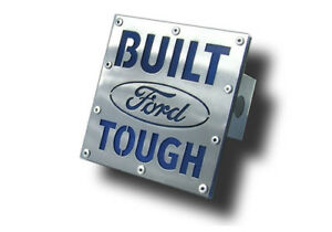 Au tomotive Gold T bft2 s Built Ford Tough Brushed Stainless 2 Hitch Cover