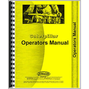 For Caterpillar 50 Tractor Equipment Operator Manual new ct o 50 5a1