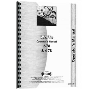 Oliver 4 78 Mighty Tow Industrial construction Operator s Manual