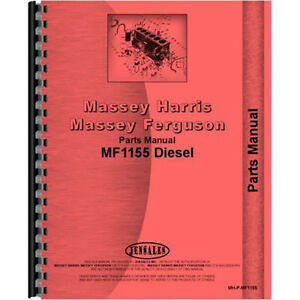 New Massey Ferguson 1155 Tractor Parts Manual
