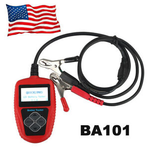 Usa Ship Quicklynks Ba101 Automotive 12v Vehicle Battery Tester Tool