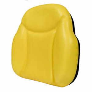 Big Boy Seat Replacement Back Cushion For Several John Deere Tractors Yellow