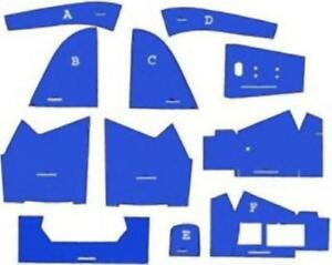 Cf5600 Ford New Holland Tractor 5600 6600 7600 Blue Cab Foam Kit W o Headliner