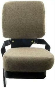 New Light Brown Side Kick Buddy Seat For John Deere 4710 7930 8310 9100 9220