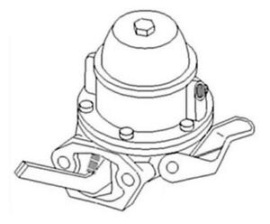 13h3375 Fuel Lift Transfer Pump For Leyland Marshall Nuffield Tractor Jcb 3d 2 6