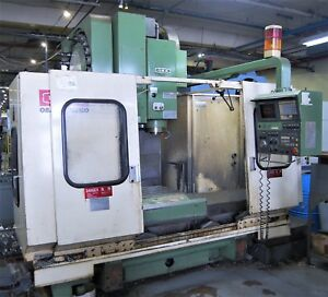 Okk Model Pcv 510 10l Cnc Vertical Machining Center With Mits M330 Control 1990