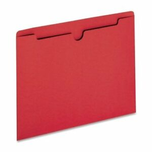 Sparco Reinforced Tabs Colored File Jackets
