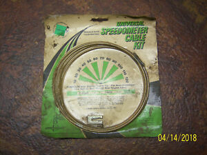 Vintage Universal Speedometer Cable Kit 1940s 50s 60s Ratrod A Chevy Ford Dodge