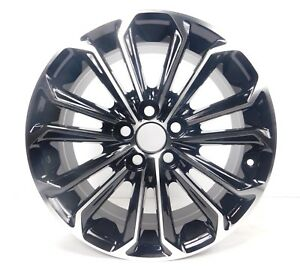 16x6 5 5x100 Wheels Rims Fits Toyota Corolla Set Of 4 Machine Black New