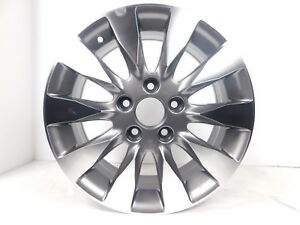 16x6 5 5x114 3 Wheels Rims Fits Honda Accord Set Of 4 Gun Metal brand New