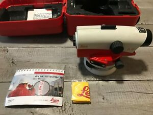 Used Leica Na728 Automatic Level With Leica Hard Shell Case