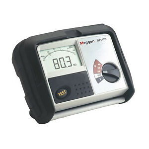 Megger Det4tcr2 1000 346 4 terminal Digital Ground Tester Batt