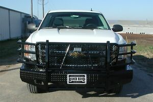 Ranch Hand Fsc081bl1 Summit Series Front Bumper Fits 07 10 Silverado 2500 Hd