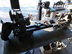 Craftsman Lathe 101 07413 Atlas Lathe Metal Lathe 4 Ft Bed machinist Lathe