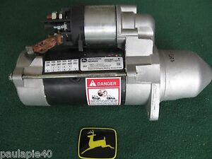 John Deere Tractor Reman Starter Se501868 6000 7000 Series models Below