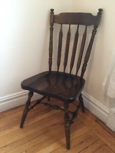 Ethan Allen Solid Wood Dining Side Chair 12 6011