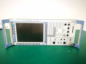 Rohde Schwarz Fsq26 Spectrum Analzyer 20hz 26 5ghz