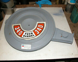 Mopar 1972 Only 340 Hi po Air Cleaner Dodge Plymouth Cuda Duster Challenger