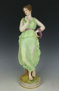 Dresden Volkstedt After Antonio Canova Porcelain Figurine Worldwide