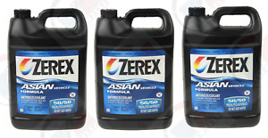 3pk Zerex Coolant Antifreeze For Honda Acura Civic Accord Prelude Odyssey Cr v